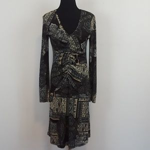 Karen Kane Paisley print dress size medium